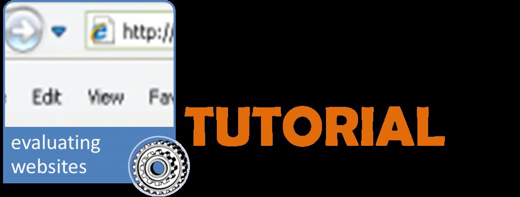 tutoiral evaluating websites