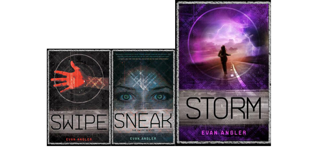Swipe series book covers