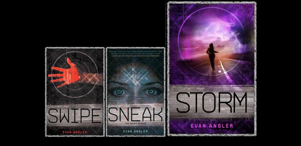 Swipe series book covers