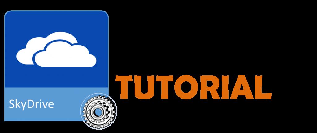 tutorial SkyDrive