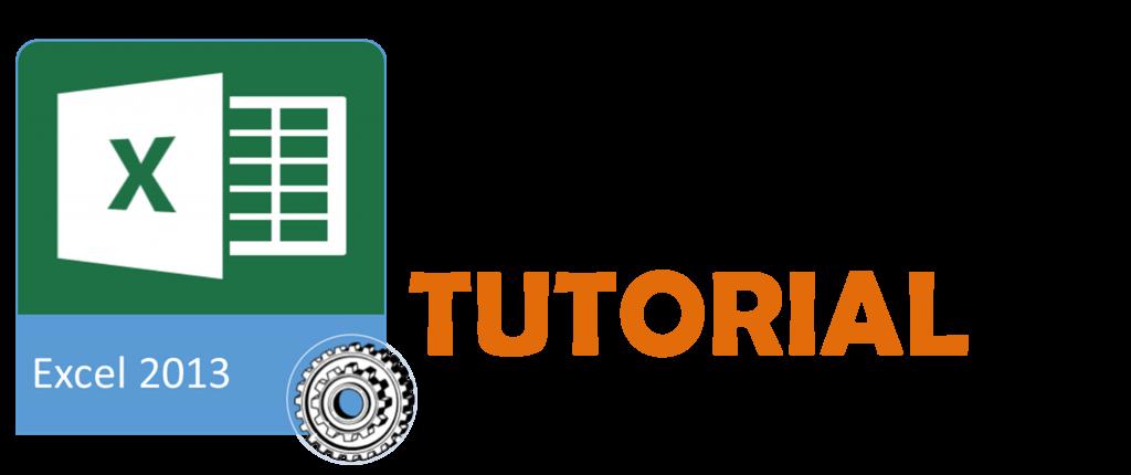 tutorial excel 2013