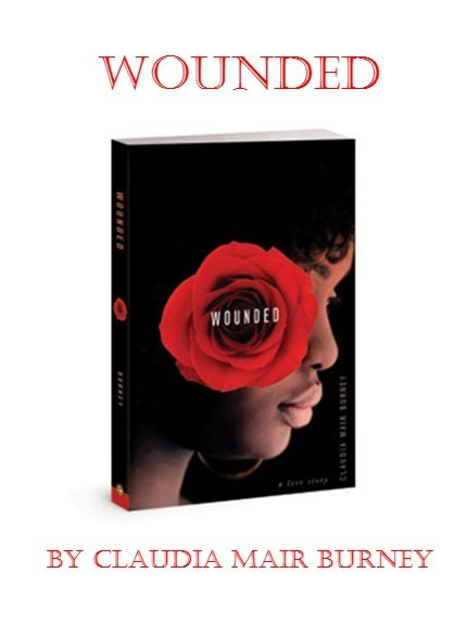 wounded cover and title