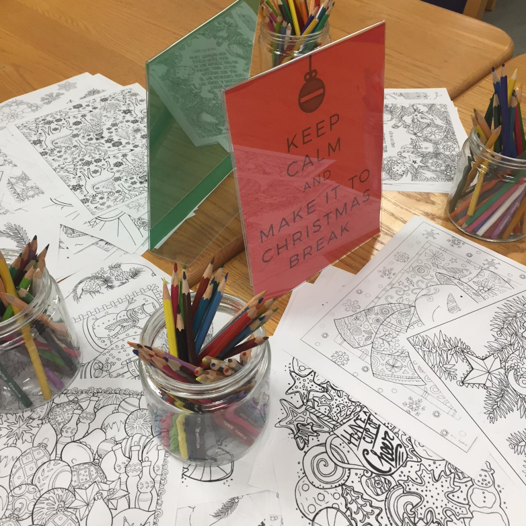 Wander By The Library And Stay Awhile U2026 We Have Candy Canes And Colouring  Pages To Help You Keep Calm And Make It To Christmas Break.